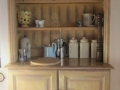 A pretty cupboard in the kitchen