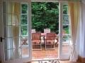 The Dairymaid's private patio