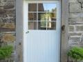 The Saddler's front door