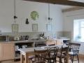 Saddler's sitting room & kitchen